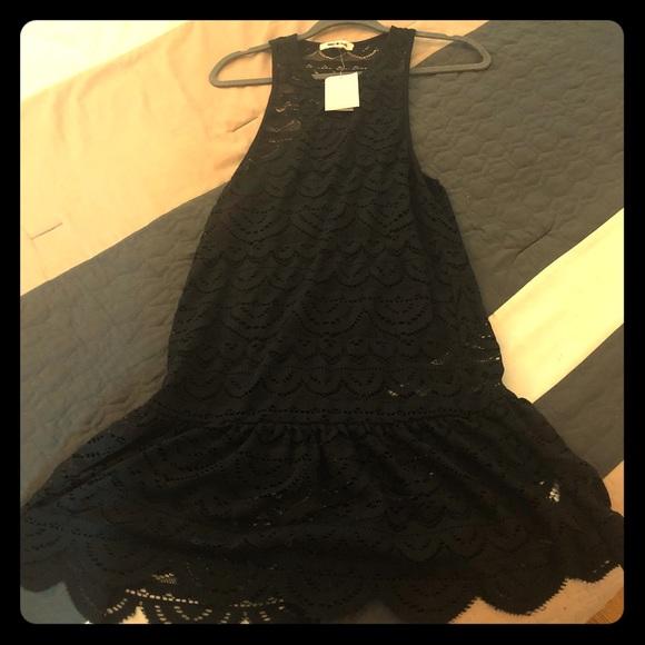 Miken Other - Juniors' Crochet Racerback Dress Cover-Up